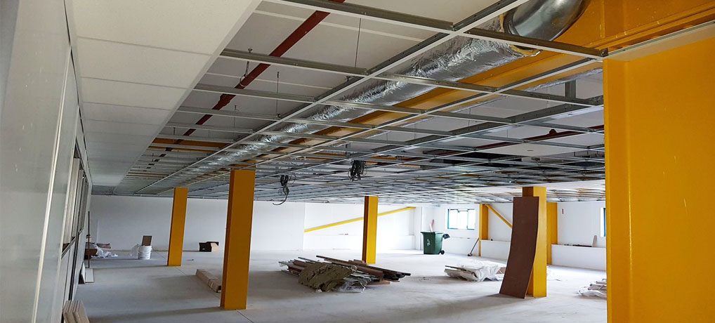 Ceiling Construction by RJM Projects