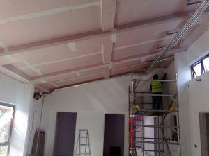 fire protection wall insalation