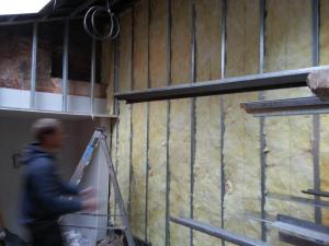 wall insallation and construction, stud walls north devon